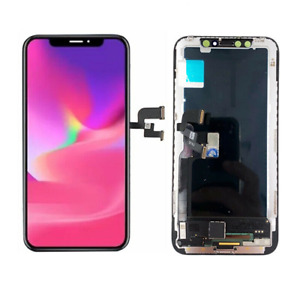 TOUCH SCHERMO LCD DISPLAY VETRO TFT INCELL PER APPLE IPHONE X PARI ALL'ORIGINALE