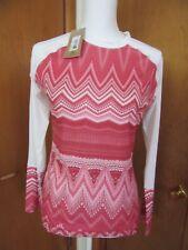 Women's new cute long sleeve Jersey blouse by Prana Size S