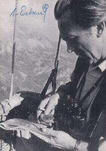 Alfred Eckert has been a prominent German gas balloonist since 1953