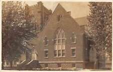 Gerro Gordo Illinois Church Of the Brethren Real Photo Postcard J64322