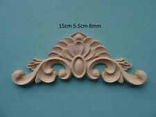 Centro di scorrimento in legno Onlay APPLIQUE Furniture Stampaggio Decorativi C650