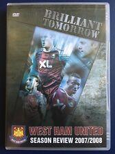 DVD West Ham United 2007/2008 Season Review ORIGINAL 'Brilliant Tomorrow'