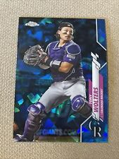2020 Topps Chrome Sapphire Tony Wolters #387 Top Loaded Rockies