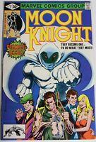 Moon Knight (1980 1st Series) 1 1st Appearance Bushman KEY Issue FN/VF