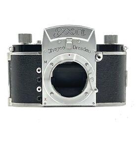 Ihagee Dresden EXA SLR Camera Body Version 1 w Original Case