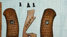 Original  M1895 Nagant Revolver wooden grips  with screws and nuts set USSR
