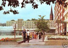 AK, Frankfurt Oder, Karl-Marx-Str. mit Hotel Stadt Frankfurt, belebt, 1981