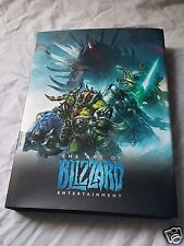 The Art of Blizzard Hardcover LE Art Book Dev SIGNED World of Warcraft Overwatch