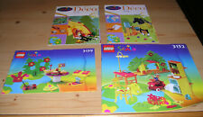 Lego System Scala Anleitungen 3152 3159