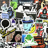 50pcs Hacker Decal Sticker Vinyl Hackers Laptop Computer Luggage Cool Stickers