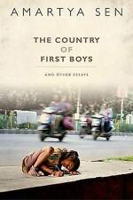 NEW The Country of First Boys And Other Essays by Amartya Sen