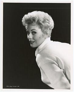 Icy Blonde Beauty Kim Novak Original 1955 Robert Coburn Glamour Photograph