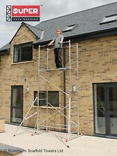 Super eDIY 5M+2 Fixed Outriggers and Stiffeners Aluminium Scaffold Tower/Towers