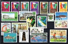 Costa d'avorio Anni 70/80 Raccolta usata viaggiata (e)