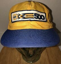Vintage NAPA NATIONAL 500 70s USA Louisville MFG CO Hat Cap Snapback LIGHTWEIGHT