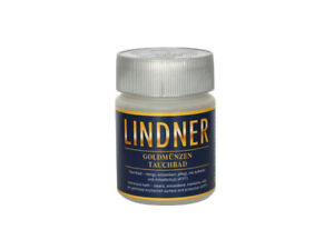 Lindner 8096 Gold Münzbad Immersion Bath Cleaning Bath 8.5oz For Coins Jewellery