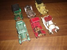 Matchbox Models Of Yesteryear - Job Lot of 6 Vehicles - No boxes playworn.