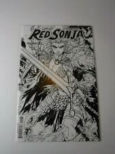 Dynamite Red Sonja #10 Jonboy Meyers 1:30 Black and White Variant Cover NM Comic