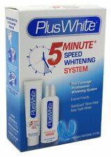 Plus White 5 Minute Premier Speed Whitening System, 3Piece Whitening Kit, 2 Pack