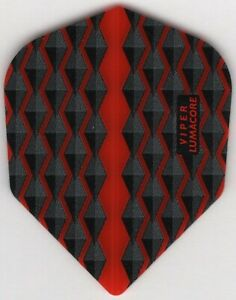 RED WAVES VIPER Dart Flights: 3 per set
