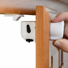 Super-Hold Magnetic Cabinet Locks-Easy to Install with 3M Adhesive Tape