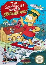 NES The Simpsons: Bart vs. The Space Mutants PALA CIB boxed great condition