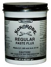 24 ea Rectorseal Nokorode 14020 8 oz Regular Soldering Paste Flux
