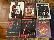 SIX Clint Eastwood DVD Movie Collection (See listing for Details)