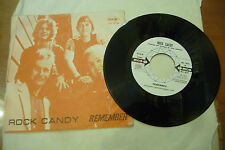 "ROCK CANDY""REMEMBER-disco 45 giri MCA It 1971"" RARO"