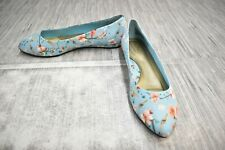 **Soft Style Darlene Flats, Women's Size 8.5W, Aqua NEW