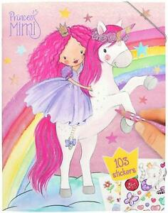 Depesche Colouring Book with Stickers Princess Mimi