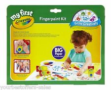 My First Crayola Kids Finger Paints Crayola Art Kit Washable Paint Kids Crafts