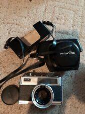 MINOLTA Hi-Matic 11 Super 3 Circuit 35mm Camera w/ Rokkor-PF f1.7 45mm Lens