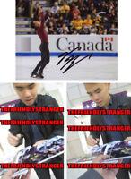 NAM NGUYEN signed Autographed 8X10 PHOTO D - PROOF - Figure Skating COA