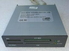 (UNTESTED) PC GIGABYTE 11 in 1 CARD READER USB GO-C112LA 1.2 MS-SD/MMC-CF/MD-SM