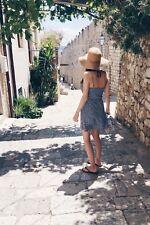 Kleid H&M Blau Weiß Sommerkleid Strandkleid Größe S/36 Wie Neu