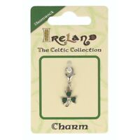 Celtic Collection Small Metal Green Shamrock Charm