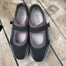 MBT Grey/Berry Toning Walking Sneaker Maryjane