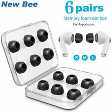 Sponge Silicone Memory Foam Ear Tips For Airpods Pro Tips Replacement Earpads