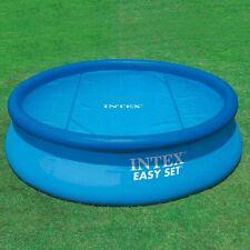 Intex 29020 Solarplane für 244 cm Pool -Die Abdeckplane für Ihren Pool im Garten
