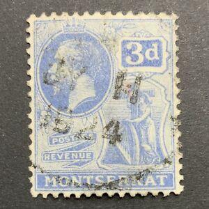 Agrome MONTSERRAT British 1922 SG# 73 Used CV £ 16+ (3019