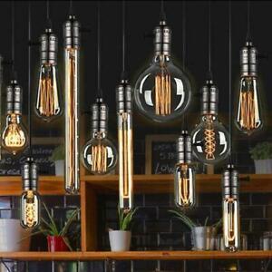 E27 B22 E14 Vintage Antique Style Edison Bulbs Industrial Filament Light Bulb