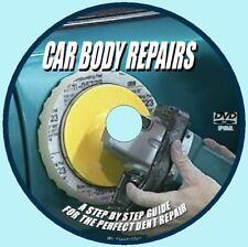 DVD TRAINING BASIC CAR BODY PANEL REPAIR DENTS PAINT TOOLS WELDING POLISHING NEW
