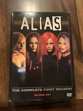 Alias - The Complete First Season (DVD, 2003, 6-Disc Set) Very Good