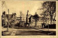 Saint-Brieuc Bretagne Frankreich s/w CPA ~1920/30 Partie am Collège Ernest Renan