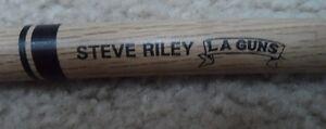 STEVE RILEY of the band LA GUNS DRUM STICK