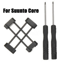 Watch Band Strap Connector Lug Adapter Replacement+Screw Bar Kit For Suunto Core
