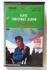 1973 ELVIS PRESLEY CHRISTMAS ALBUM Tape Compact Cassette RCA ACK-179