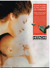 Publicité Advertising 1995 Le camescope VM-H80E Hitachi