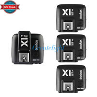 US Godox TTL X1T-S Flash Trigger Transmitter + X1R-S Receivers for Sony Camera